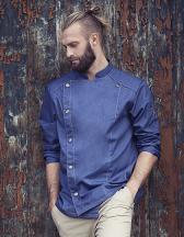 Kochjacke Jeans-Style